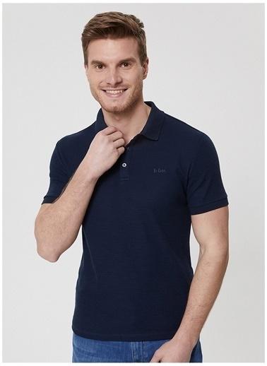 Lee Cooper Lee Cooper Lacivert Polo Yaka Erkek T-Shirt Lacivert